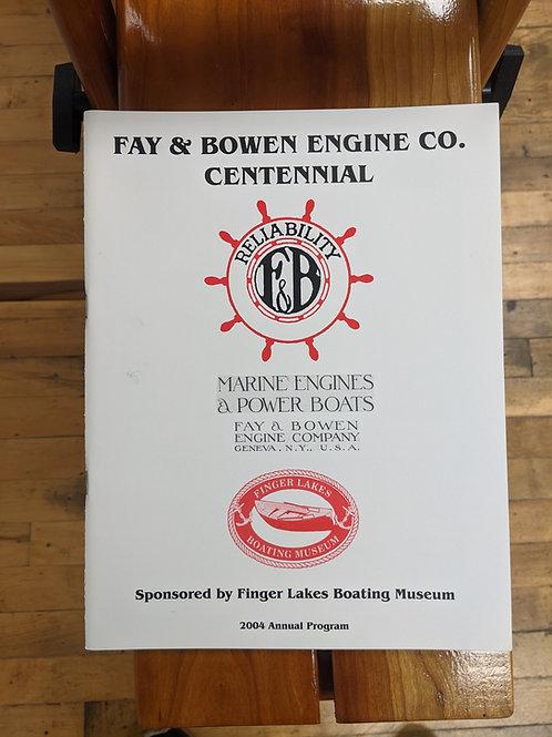 Fay and Bowen Engine Co. Centennial
