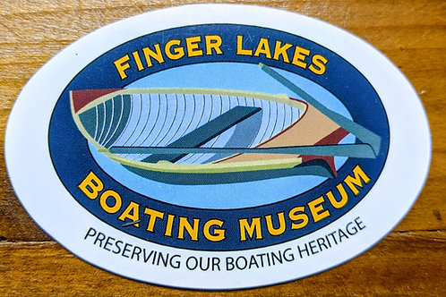 Finger Lakes Boating Museum Magnet
