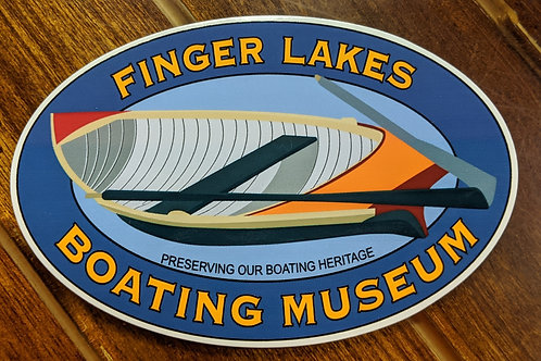 Finger Lakes Boating Museum Bumper Sticker
