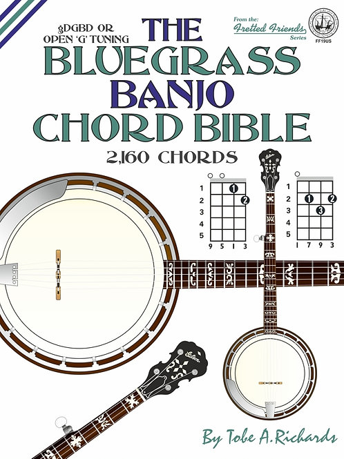 FF19US The Bluegrass Banjo Chord Bible