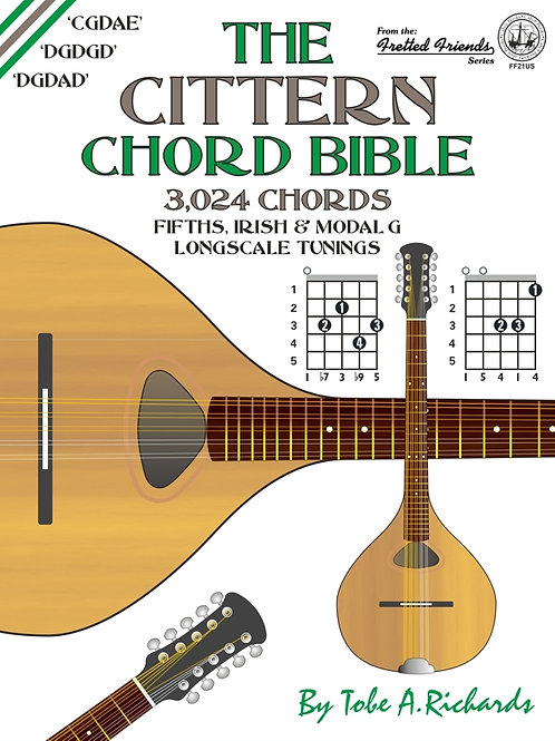 FF21US The Cittern Chord Bible: Longscale Tunings