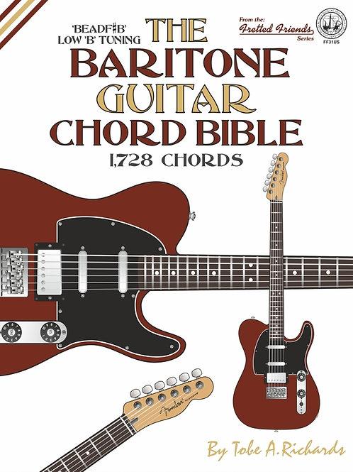 FF31US The Baritone Guitar Chord Bible: Low B Tuning