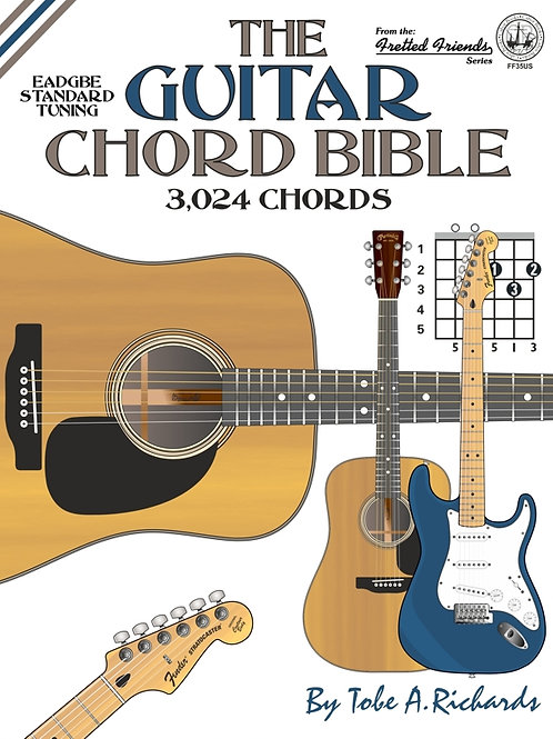 FF35US The Guitar Chord Bible