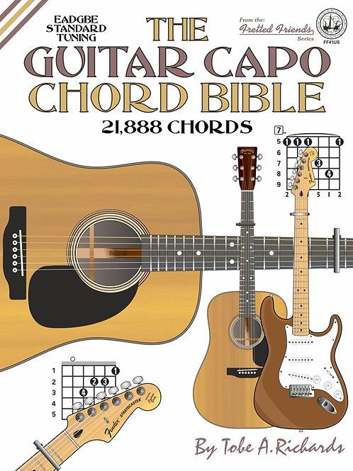 FF41US The Guitar Capo Chord Bible