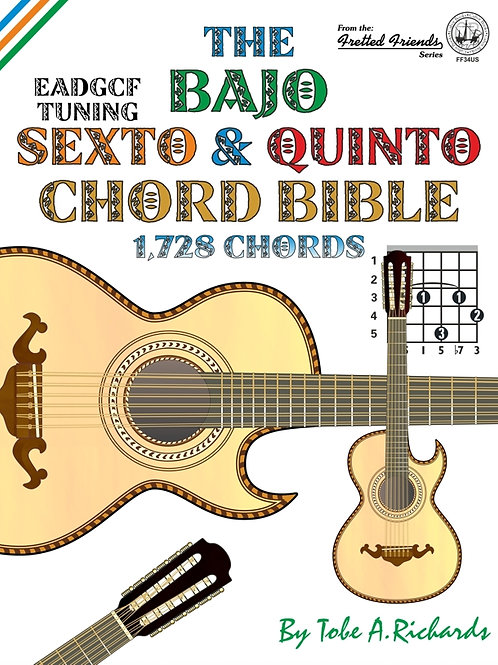 FF34US The Bajo Sexto & Quinto Chord Bible