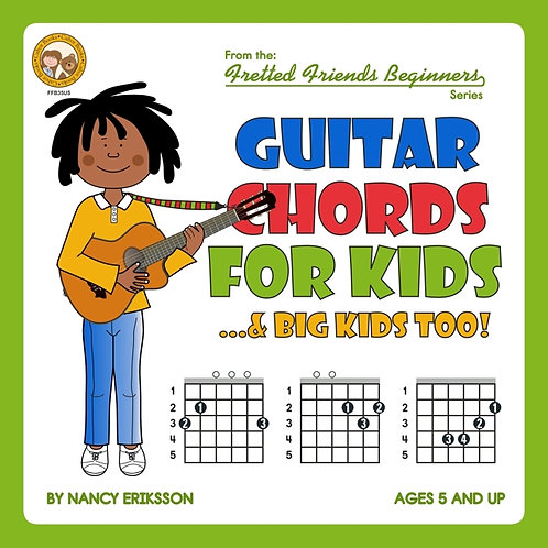 FFB35 Guitar Chords For Kids...& Big Kids Too!