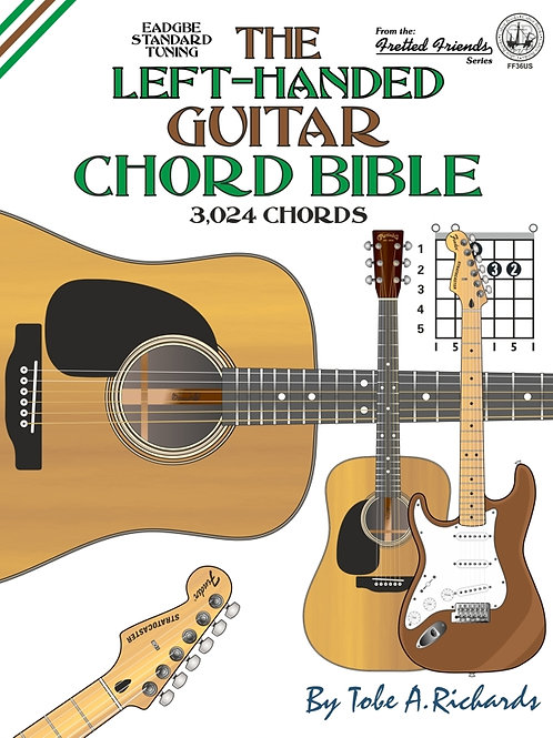 FF36US The Left-Handed Guitar Chord Bible