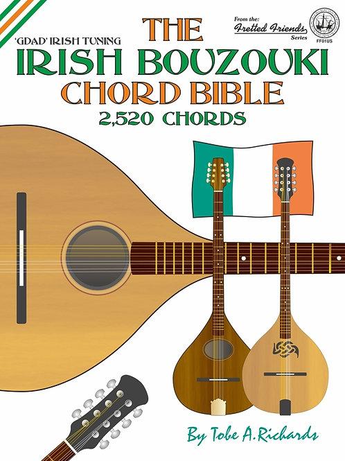FF01US The Irish Bouzouki GDAD Chord Bible