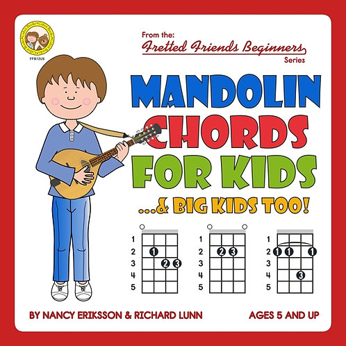 FFB12 Mandolin Chords For Kids...& Big Kids Too!
