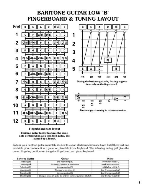 Ff31us The Baritone Guitar Chord Bible Low B Tuning