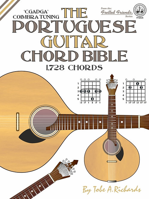 FF22US The Portuguese Guitar Chord Bible: Coimbra Tuning
