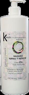 BALSAMO PEPINO PISTACHE 960 g.