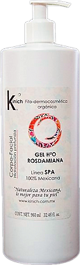 GEL H2O ROSDAMIANA 960 ml.