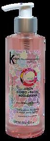 JABON CORPO-FACIAL ROSDAMIANA 250 ml.