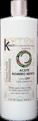 ACEITE ROMERO MENTA 1000 ml.