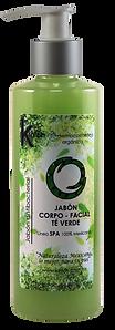 JABÓN CORPO-FACIAL TÉ VERDE 250 ML.