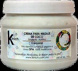 CREMA PARA MASAJE DE COCO - 500 g.