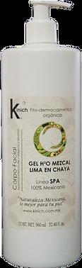 GEL H2O MEZCAL LIMA EN CHAYA 960 ml.