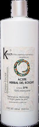 ACEITE HERBAL DEL BOSQUE 1000 ml.