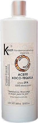 ACEITE XOCO-TEQUILA 1000 ml.