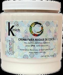 CREMA PARA MASAJE DE COCO - 970 g.