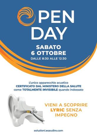 Open day a Zanè (VI) il 06/10