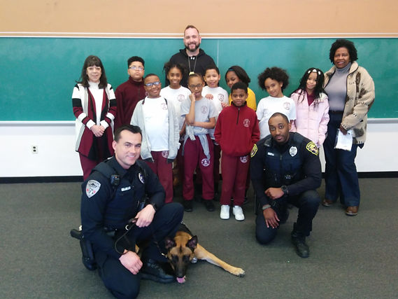 Feb 11, 2019 Police Dog Visit - 4th & 5t