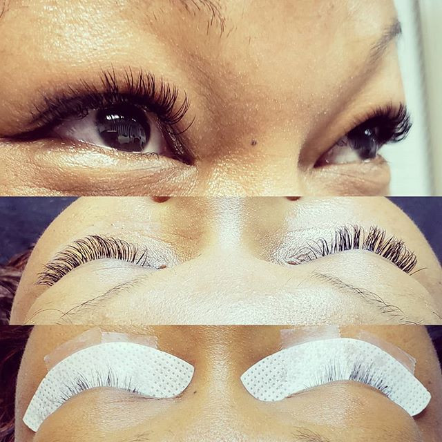 Classic Full Set | Eyelash Extensions | Before and After | Near Me | San Diego
