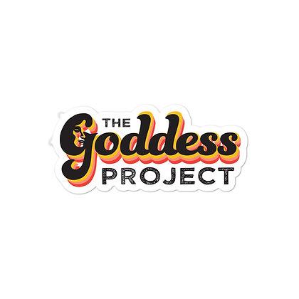 Goddess Project Logo Sticker