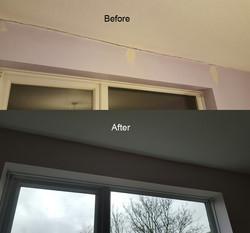 Repairs and painting