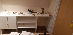 Custom made drawer unit