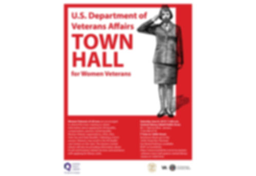 VA Woman Veteran Town Hall Sat June 8 20