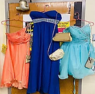 Big shout out to the NABMW donated prom dresses, bags & jewelry.