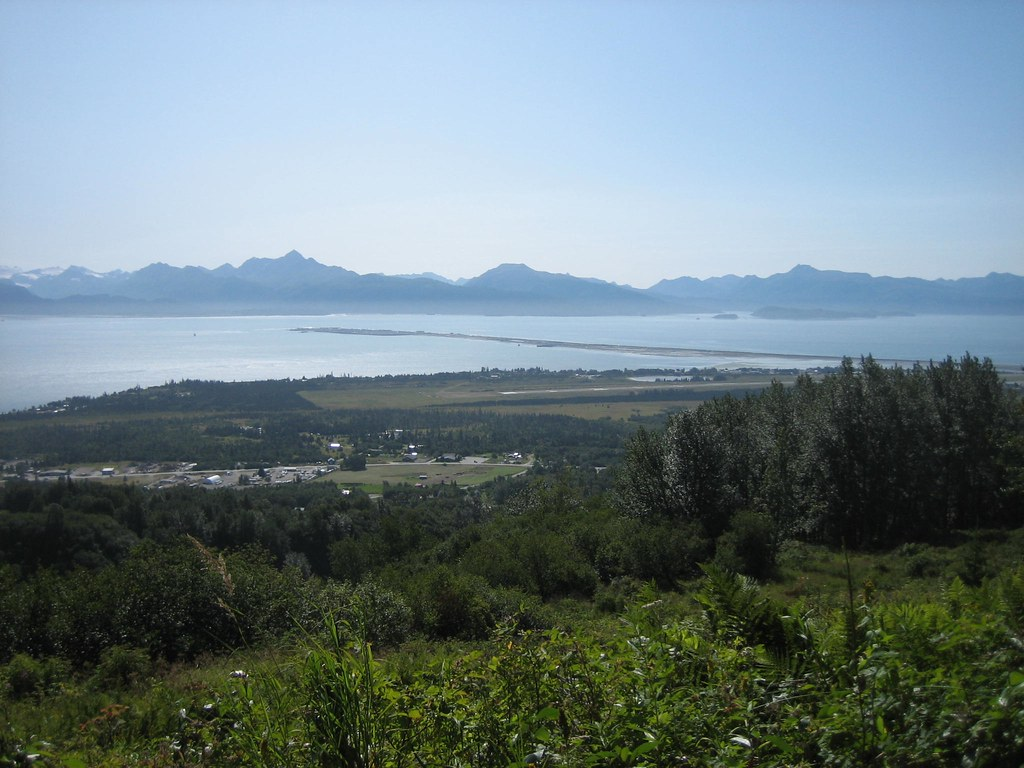 Wynn Nature Center Homer Alaska view