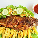 Peppered Tilapia Fish