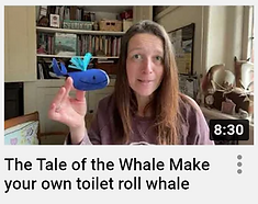 The Tale of the WHale Video toilet roll