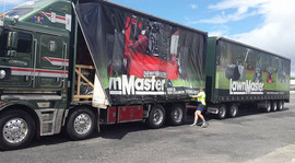 Lawn master truck
