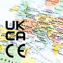 CE and UKCA Marked  for EU and UK Marketplace