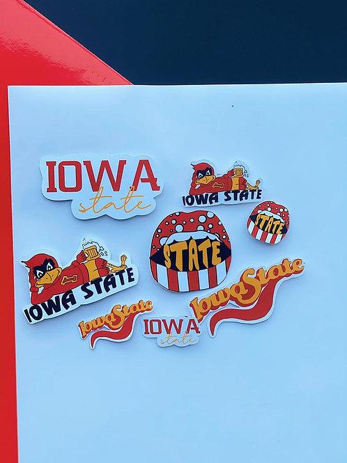 "Iowa State 1"" Mini Pack"