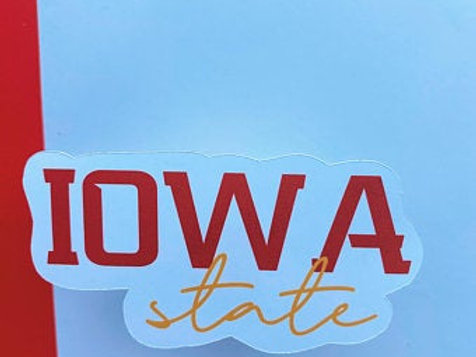 Iowa State Sticker