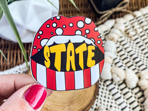 Iowa State Game Day Lips