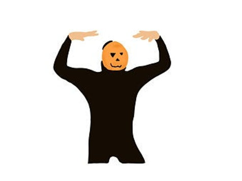 KXVO Dancing Pumpkin Man