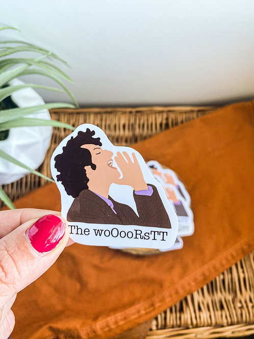 Jean Ralphio The Worst Parks and Rec Sticker