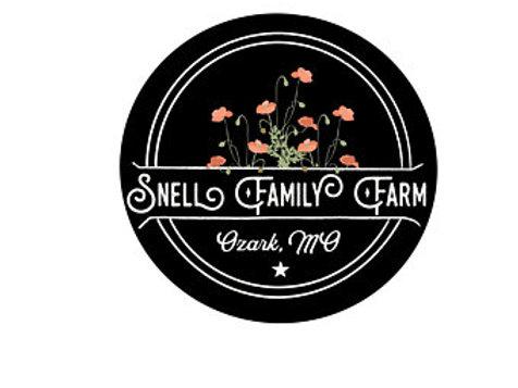Ozark Snell Family Farm Sticker