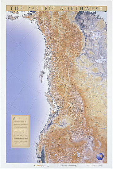 The Pacific Northwest Watershed Map