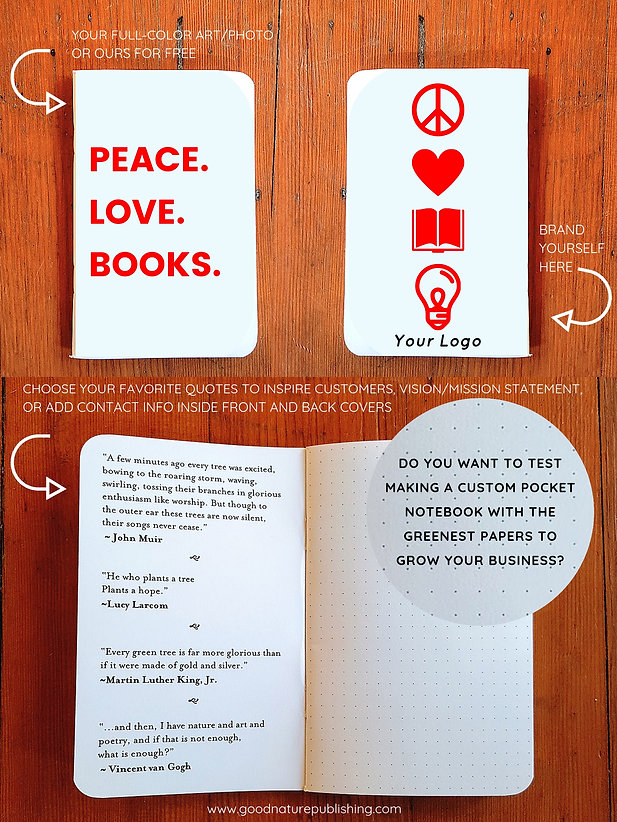 Custom Notebook Information _ Good Natur