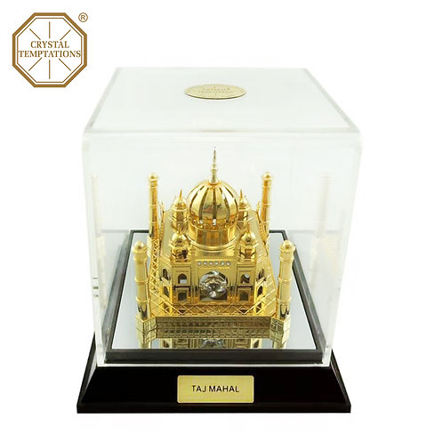24K Gold Plated Decoration Mosque with Swarovski Crystal