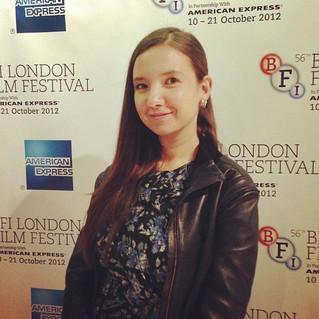 At the BFI Film Festival