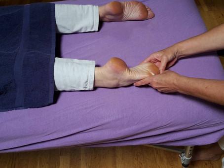 Chinese voetreflex massage