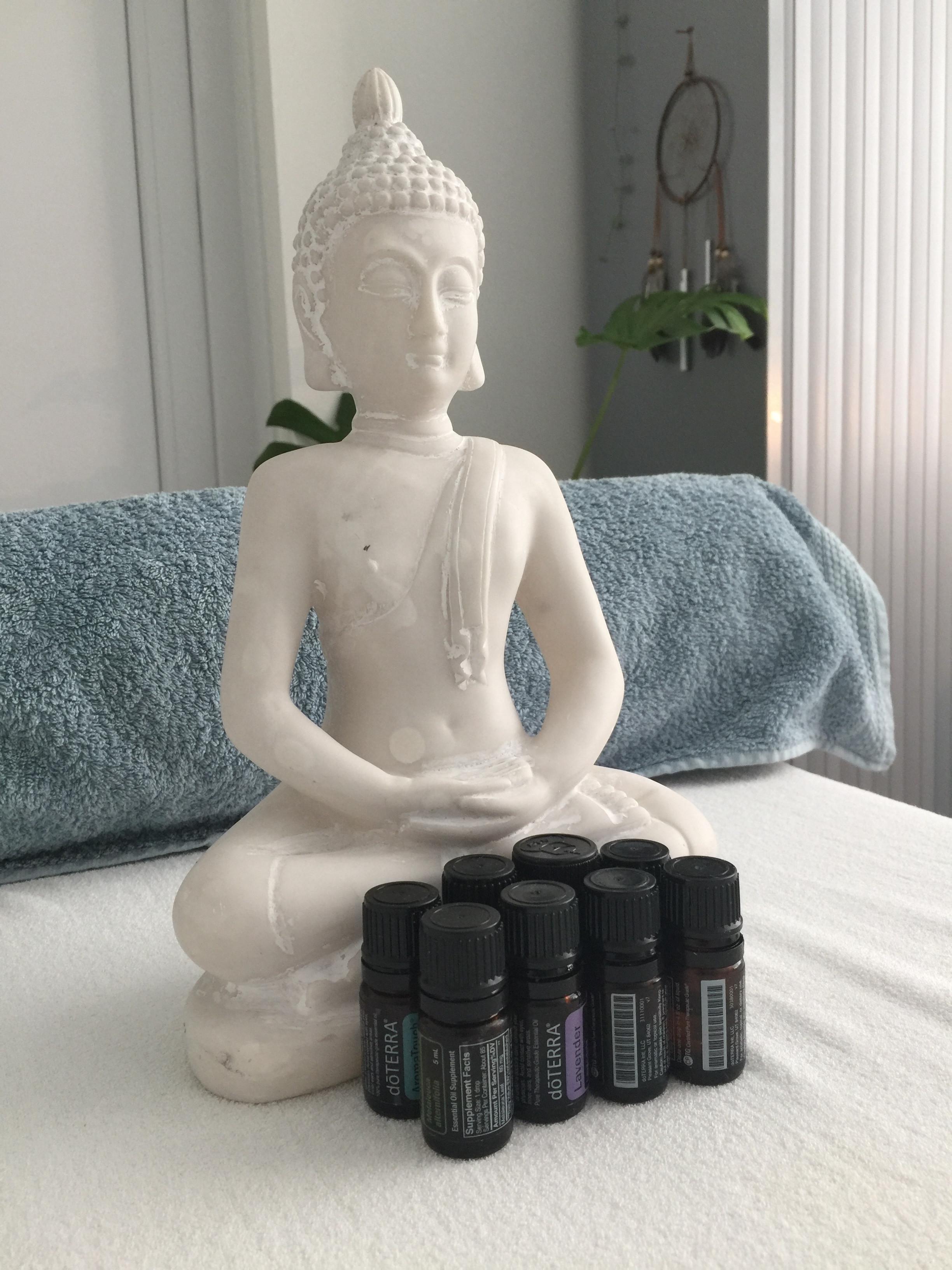 Aroma touch (8 olie) & rug/schouder/nek